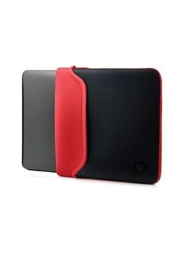 HP HP V5C30AA 15.6'' Neopren Çevrilebilir Notebook Kılıf Siyah-Kırmızı Renkli